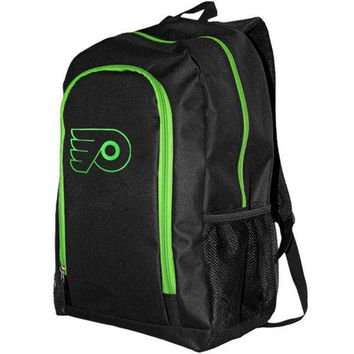 NHL Philadelphia Flyers Neon Tracker Backpack
