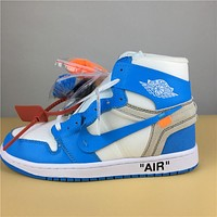Air Jordan 1 Retro white royal blue  40-47