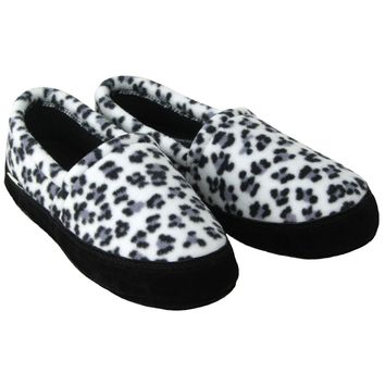 Polar Feet® Women's Perfect Mocs™ Snow Leopard