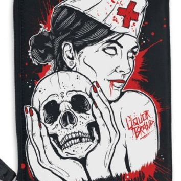 Liquorbrand | Nurse Cosmetic Bag - Tragic Beautiful buy online from Australia