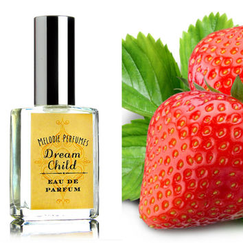 Strawberry perfume - Dream Child perfume ™ perfume spray. Sophisticated sweetly mischievous.