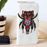 Lynyrd Skynyrd | Rock Band | Music | custom wallet case for iphone 4/4s 5 5s 5c 6 6plus 7 case and samsung galaxy s3 s4 s5 s6 case
