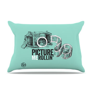 "KESS Original ""Picture Me Rollin"" Pillow Sham"