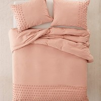 Tufted Dot Duvet Cover | Urban Outfitters