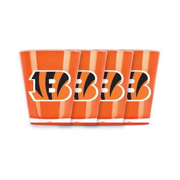 4 piece shot glass set - Cincinnati Bengals