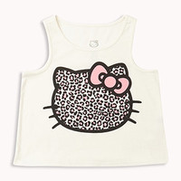 Leopard Hello Kitty® Tank | FOREVER 21 - 2057709826