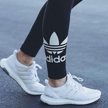 Adidas Hot Sale Black Long Pants Leggings