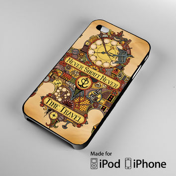 Never Shout Never Time Travel A0707 iPhone 4S 5S 5C 6 6Plus, iPod 4 5, LG G2 G3, Sony Z2 Case