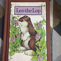Vintage 1978 Leo the Lop Serendipity Hardcover Book