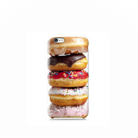Stack of Doughnuts Pattern iPhone 6 case, iPhone 6 Plus, iPhone 4, iPhone 5 5s, iPhone 5c, Nexus 5 case, LG G3 case, Galaxy S5 & S6 case
