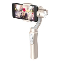 Rose Gold 3-Axis Handheld Gimbal Stabilizer iPhone X 8 7 Plus 6 Plus Samsung Galaxy S8+ S8 S7 S6