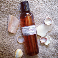 Coconut Lime Hot Oil Treatment with Argan Oil & by SheaBoutique