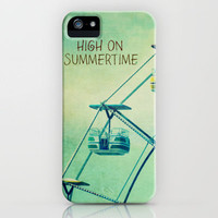 High On Summertime iPhone Case by RDelean | Society6