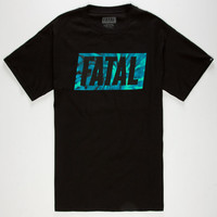 Fatal Tie Or Die Mens T-Shirt Black  In Sizes