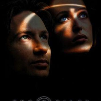 X-Files The Poster Standup 4inx6in