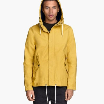 Canvas Parka - from H&M