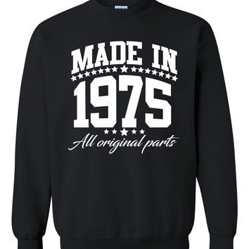 Made in 1975 all original parts Crewneck Sweatshirt