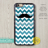 Chevron and beard, iPhone 6 case, iPhone 6 Plus case, iPhone case, iPhone 5 case, iPhone 5S Case, Galaxy S5 S4 S3 Note 2 Note 3, A0020