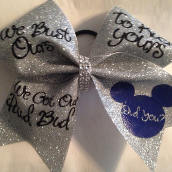 Summit or Worlds cheer bow