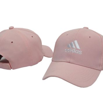 Pink ADIDAS Embroidered Baseball snapback cap