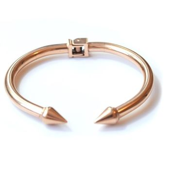Rose Gold Spike Cuff
