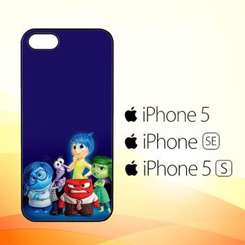 Disney Inside Out Characters X3466  iPhone 5|5S|SE Case