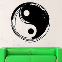 Wall Sticker Vinyl Decal Tai Chi Yin Yang Chinese Symbol Taoism (ig1850)