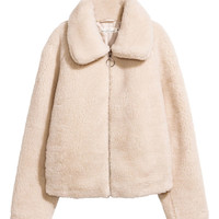 Short Pile Jacket - from H&M