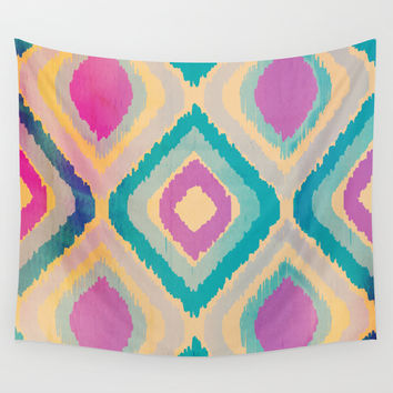URBAN IKAT Wall Tapestry by Nika