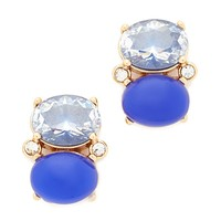 Shine On Drop Stud Earrings