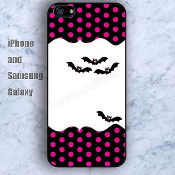 bat dream iPhone 5/5S Ipod touch Silicone Rubber Case Phone cover Waterproof