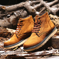 Boots Winter Korean Men Cotton Shoes Men's Shoes [9462346567]