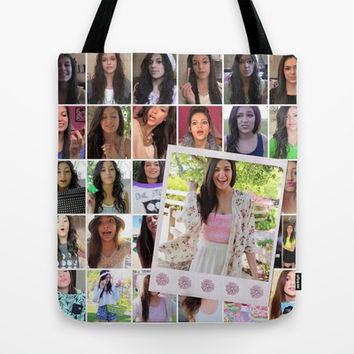 Bethany Mota Tote Bag by hayimfabulous