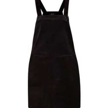 new arrive cheaper quite nice Black Cord Pinafore Dungaree Dress