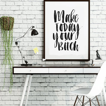 PRINTABLE Art, Relax Poster,Enjoy,Watercolor Print,Funny Print,Humorous,Quote Print,Typography Print,Inspirational Quote,Motivational Print
