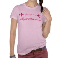 Proud to be a Flight Attendant Tshirt