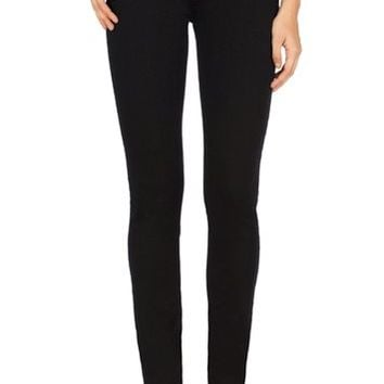 J Brand Jeans - Seriously Black 620 Mid-Rise Super Skinny by J Brand,