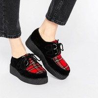 Truffle Collection | Truffle Collection Fre Creeper Flat Shoes at ASOS
