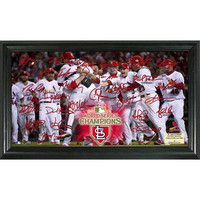 2011 World Series Champions Celebration Signature Field