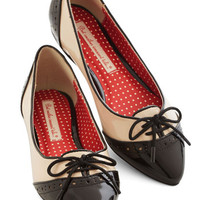 Bait Footwear Menswear Inspired Candy Apple Sweet Flat in Monochrome