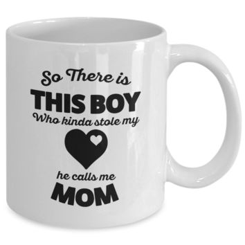 This Boy Stole My Heart v2 - 11oz Mug