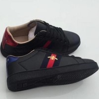 Gucci casual fashion men and women trend sports running shoes F