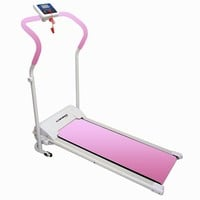 Confidence Power Plus Motorized Fitness Treadmill Pink