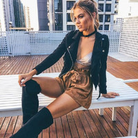 Autumn Women's Fashion Hot Sale High Waist Pants Shorts [9430884868]