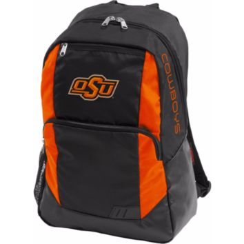 "Logo NCAA Oklahoma State OU Cowboys Backpack with 13"" Laptop Compartment, Orange"