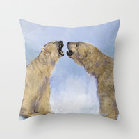 An old fashioned love song                                Throw Pillow by Mary Kilbreath