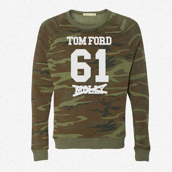 I ROCK TOM FORD fleece crewneck sweatshirt