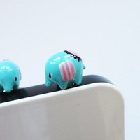 Cute thai Elephant - IPhone dust plug - Cellphone Accessories