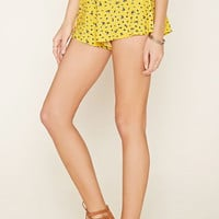 Ditsy Floral Print Shorts | Forever 21 - 2000153820