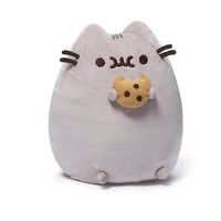 Soft Cotton Cat Plush Toys 24cm Kawaii Animals Stuffed Toy Cute Smile Cat Pillow Cushion Lovely Toys for Girls Christmas Gifts